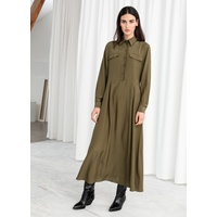 & OTHER STORIES Lyocell Blend Maxi Dress