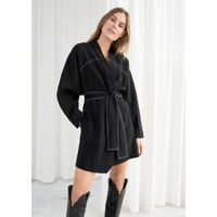 & OTHER STORIES Belted Kimono Wrap Dress