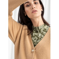 & OTHER STORIES Cropped Cashmere Cardigan