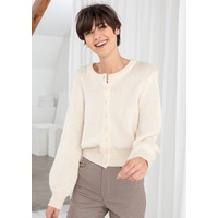 & OTHER STORIES Cropped Wool Blend Cardigan