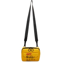 Yellow Industrial Travel Crossbody Bag