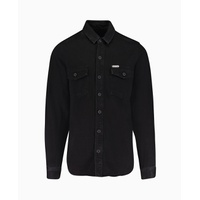 Off-White - Classic Denim Shirt - Black