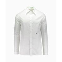 Off-White - Othelo Print Long Sleeve Dress Shirt - White