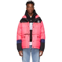 Off-White Pink Down Puffer Jacket