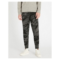 POLO RALPH LAUREN Regular-fit camouflage-print cotton-jersey jogging bottoms