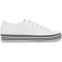 White Canvas Sotto Sneakers