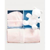 Striped Velour Gift Box Set