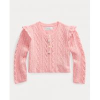 Pointelle Cotton Sweater