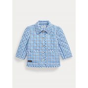 Gingham Water-Repellent Jacket