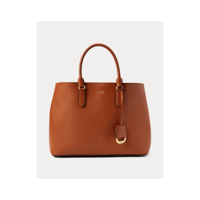 폴로랄프로렌 Leather Marcy Satchel
