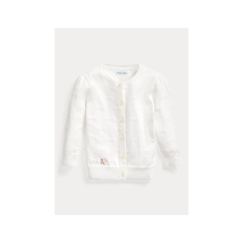 폴로랄프로렌 Hearts Cotton Cardigan