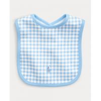 Gingham Cotton Interlock Bib