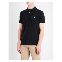 POLO RALPH LAUREN Custom-fit cotton-pique polo shirt