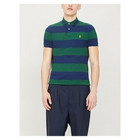 POLO RALPH LAUREN Striped cotton polo shirt