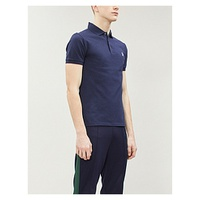 POLO RALPH LAUREN Logo-embroidered cotton-pique polo shirt