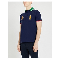 POLO RALPH LAUREN Logo-embroidered cotton polo shirt
