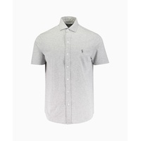 Polo Ralph Lauren - Capri Pique Short Sleeve Shirt - Grey