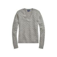 553f61fabf3e Polo Ralph Lauren Cable Cashmere V-Neck Sweater
