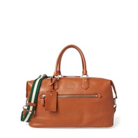 Polo Ralph Lauren Pebbled Leather Duffel