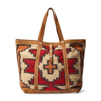 Polo Ralph Lauren Hand-Woven Tote