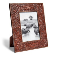 Polo Ralph Lauren Hand-Tooled Leather Frame