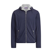 f747c5a935fa Polo Ralph Lauren Cotton Lisle Full-Zip Hoodie