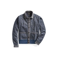 a291919d1f2b Polo Ralph Lauren Indigo Cotton Terry Jacket