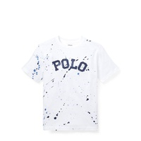 Polo Ralph Lauren Paint-Splatter Cotton Tee