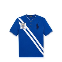 Polo Ralph Lauren Striped Cotton Mesh Henley