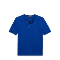 Polo Ralph Lauren Cotton Mesh Henley Shirt