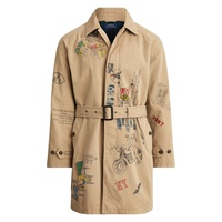 Polo Ralph Lauren Cotton Twill Balmacaan Coat