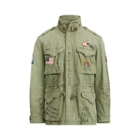 Polo Ralph Lauren Twill Graphic Field Jacket