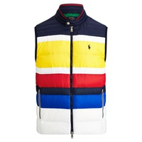Polo Ralph Lauren Striped Packable Down Vest
