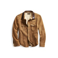 Polo Ralph Lauren Shearling Western Shirt Jacket