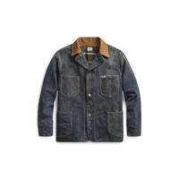 Polo Ralph Lauren Indigo Roughout Suede Jacket