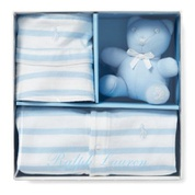 Striped Shortall Gift Set