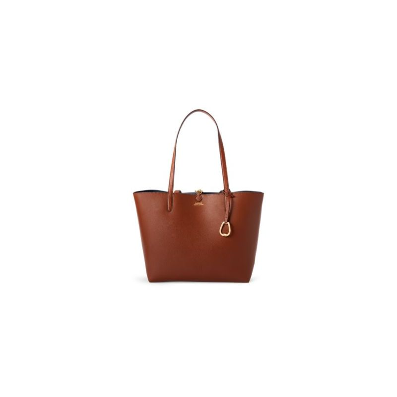 폴로랄프로렌 Faux-Leather Reversible Tote
