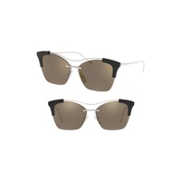 PRADA Evolution 57mm Butterfly Sunglasses