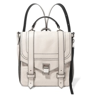Proenza Schouler PS1+ textured-leather backpack