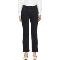 Proenza Schouler Black Cropped Flare Jeans