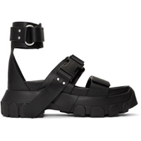 Black Hiking Spartan Sandals