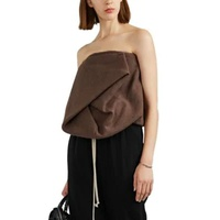 Rick Owens Strapless Bustier Top