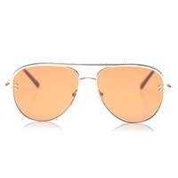 Vintage Gold Aviator Sunglasses