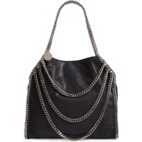 STELLA MCCARTNEY Small Falabella Shaggy Deer Faux Leather Shoulder Bag