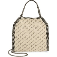 STELLA MCCARTNEY Mini Falabella Logo Canvas Tote