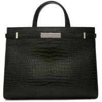 Green Croc Small Manhattan Bag