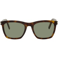 Tortoiseshell & Green SL 281 Slim Sunglasses