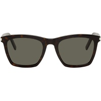 Tortoiseshell & Grey SL 281 Slim Sunglasses