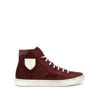 Saint Laurent Bedford suede high-top trainers