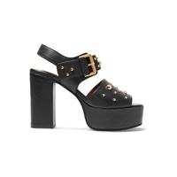 e1e9ed0fb24 See By Chloe Studded leather platform sandals
